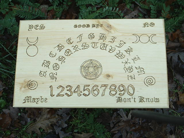 Solid wood Witch Board