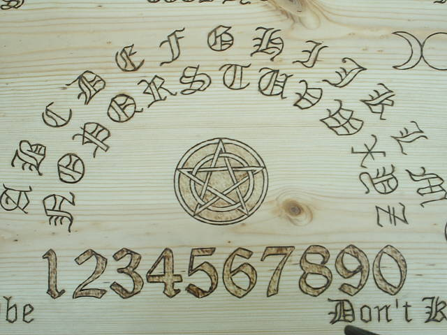 Wiccan Witches Board By Dragonoak